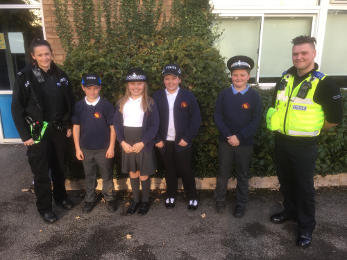Year 6 and Police