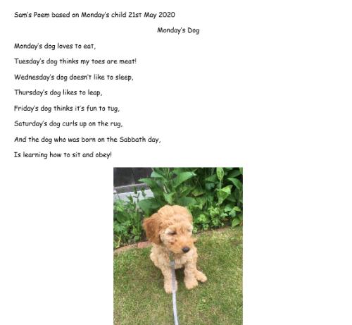Sam poem